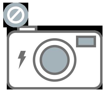 icono no flash