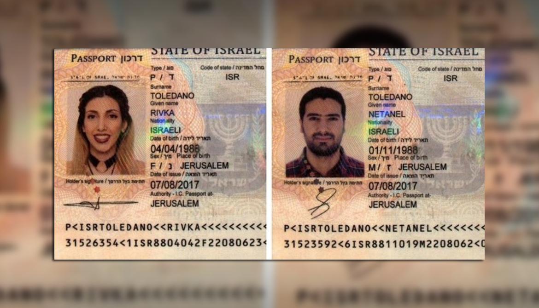 pasaporte falso