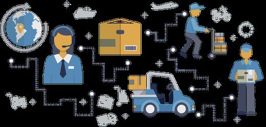 Usos blockchain logística