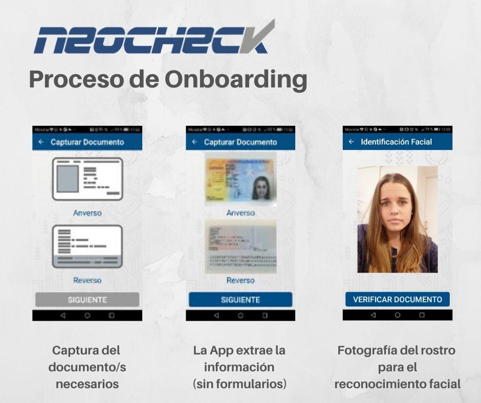 Proceso de Onboarding NeoCheck
