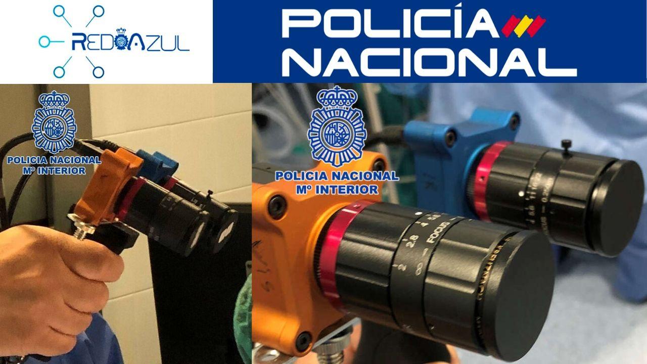 La Policía trabaja en un dispositivo capaz de detectar el Covid-19 sobre superficies
