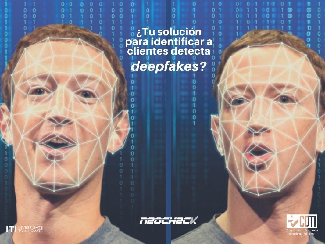 NeoCheck y el ITI se unen para luchar contra los Deepfakes