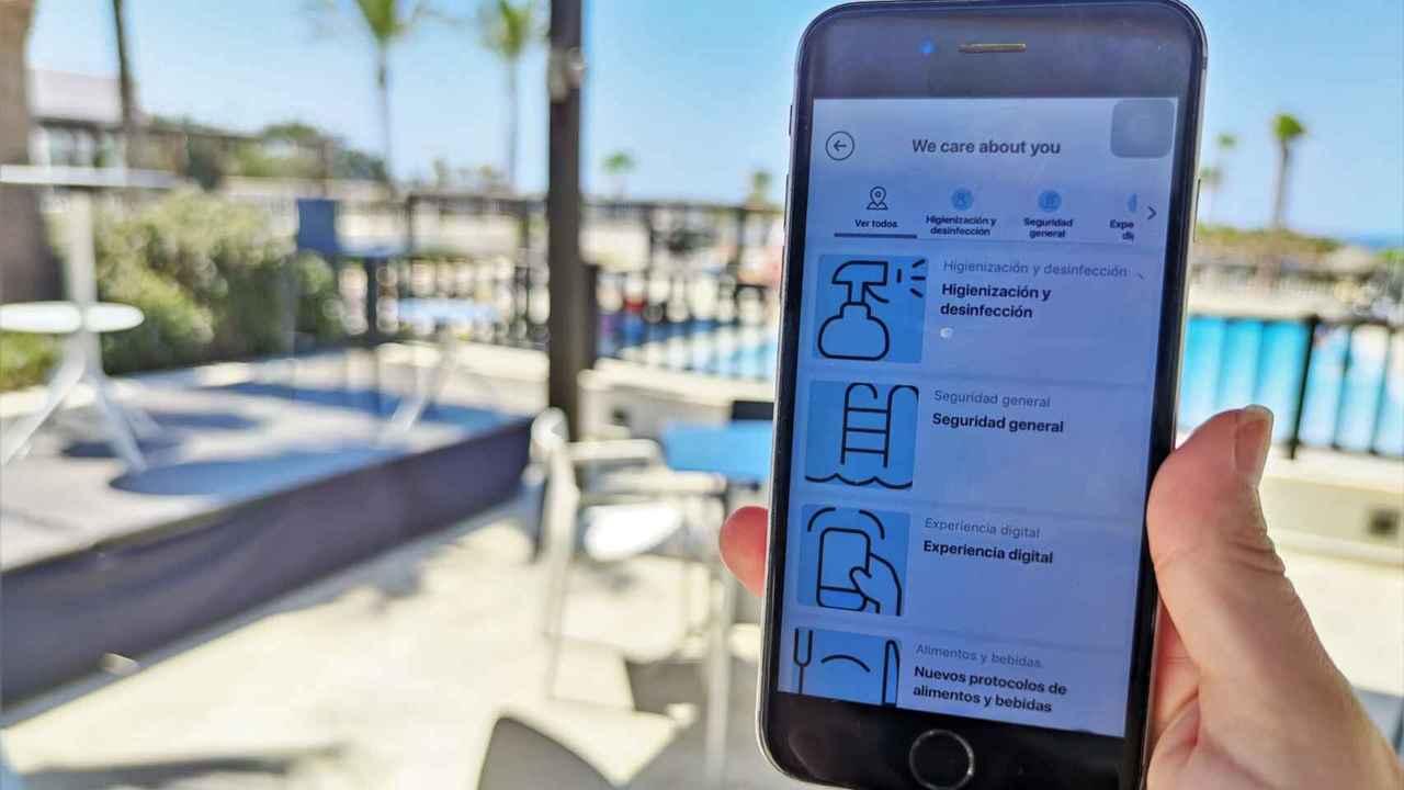 Tecnología anti Covid en nuestros hoteles de sol y playa