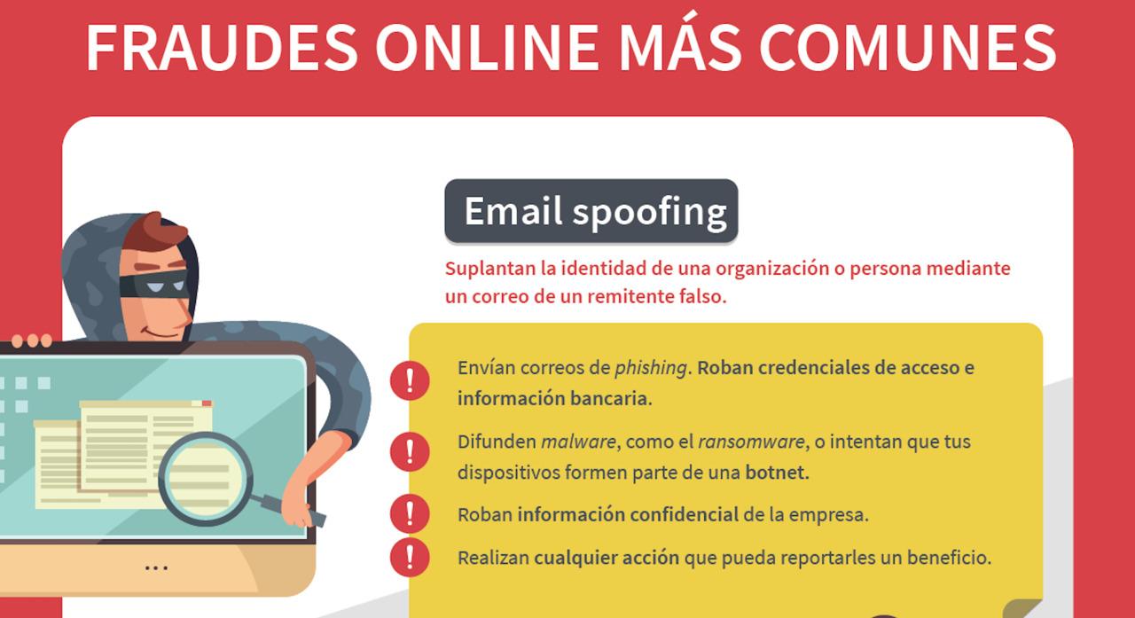 La Policía informa sobre los fraudes online más comunes en empresas